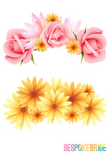 FLOWER CROWN PHOTO BOOTH PROP PRINTABLES