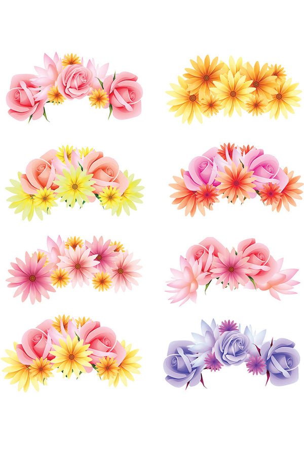 picture regarding Printable Photo Booth Props known as FLOWER CROWN Photograph BOOTH PROP PRINTABLES