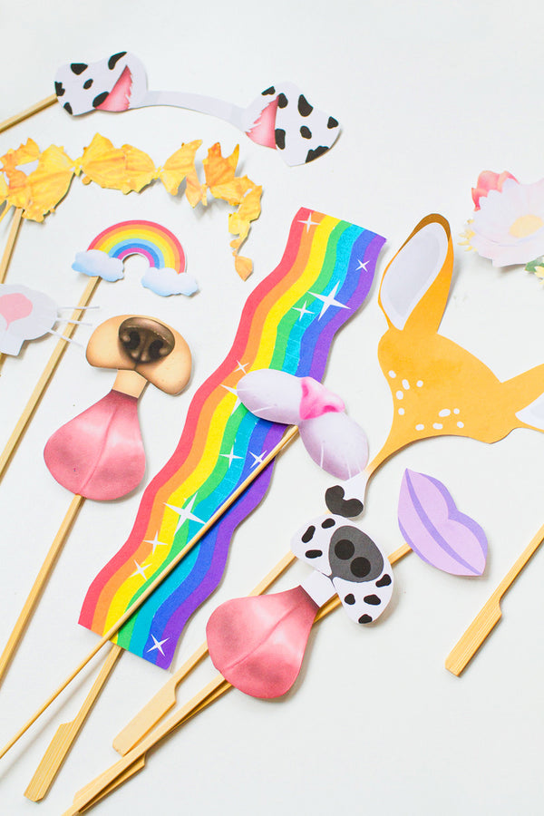 SNAPCHAT PHOTO BOOTH PROP PRINTABLES