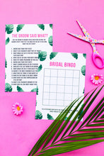 BRIDAL SHOWER / HEN / BACHELORETTE PARTY TROPICAL GAMES PACK