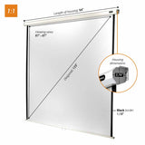 celexon Manual Economy - Manual pull down projector screen