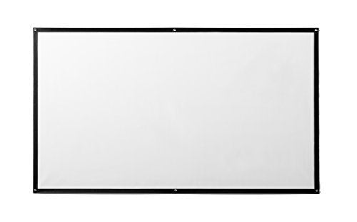 "ivolum projection screen fabric, matte white, 110"" x 62"" - 16:9 format - Gain factor 1.1"