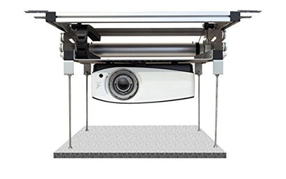 celexon projector ceiling lift PL1000 Plus - 120V | Motorized ceiling lift for projectors | Load up to 66lbs