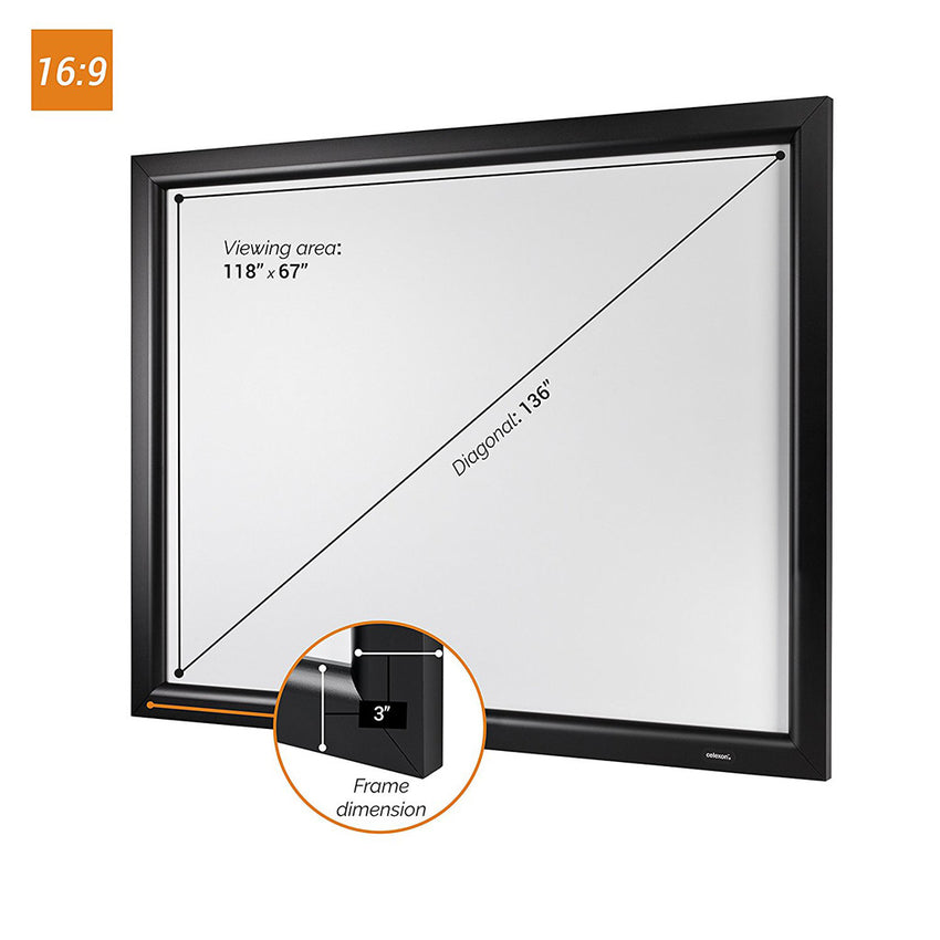 celexon HomeCinema Frame - Fixed frame projector screen