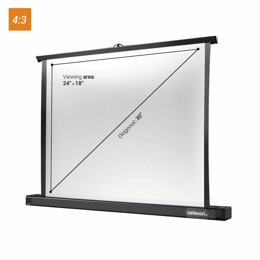 celexon Professional Mini - Portable tabletop projector screen