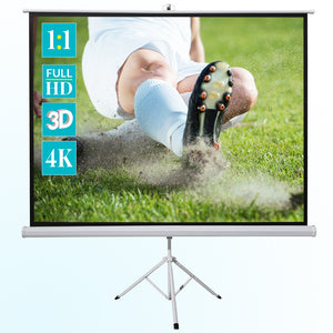 ivolum Tripod Projector Movie Screen