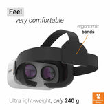 celexon 3D VR Headset Professional VRG-1 Virtual Reality Glasses