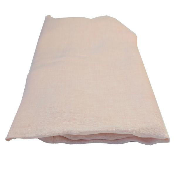 Chambray Fitted Sheet - Blush