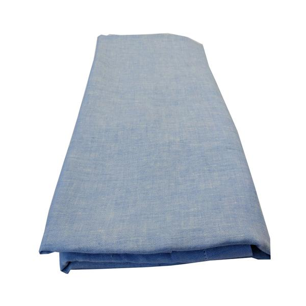 Chambray Fitted Sheet - Ocean