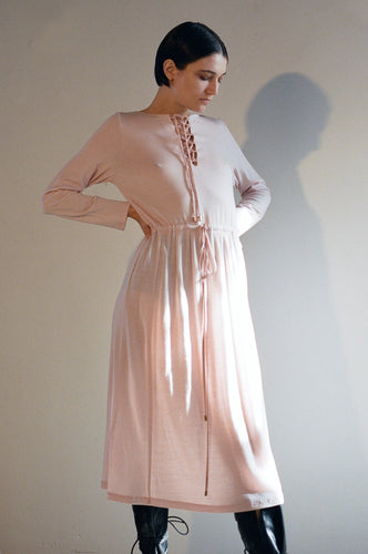 Hero dress, merino, sorbet pink