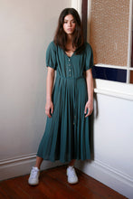 Roseum dress, sea green
