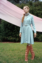 Vera dress, chalk blue