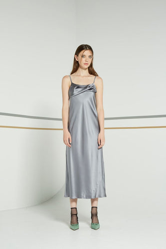 Otherness dress, liquid stone