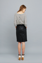 Archive - Francine Top, AW15, navy spot