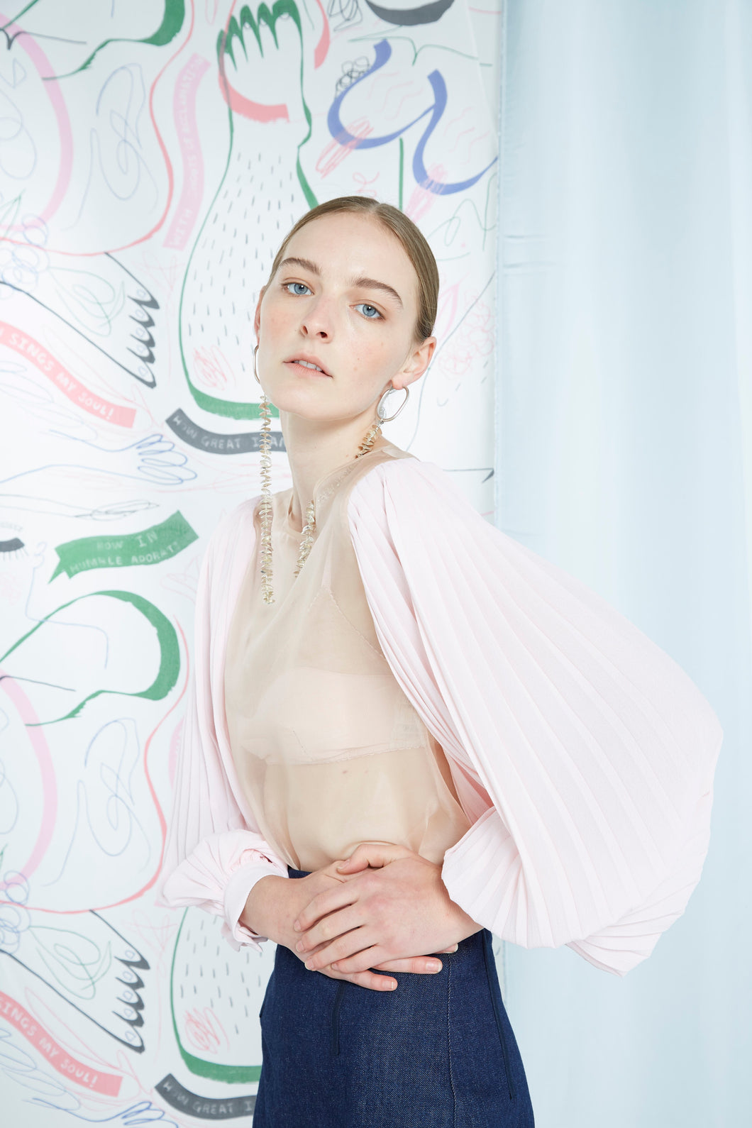 Archive- Hermine top, washed pink
