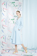 Archive- Delphia dress coat, powder blue