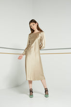Angel dress, liquid gold - MADE TO ORDER