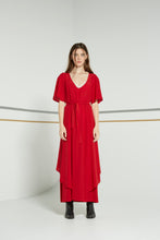 Sample/Made to order - Pilgram dress, SS19, scarlet