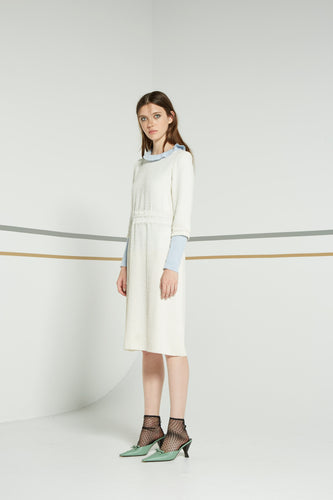 Sessile dress, pearl