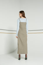 Tulipa dress, cross hatch