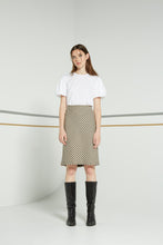Tulipa skirt, cross hatch