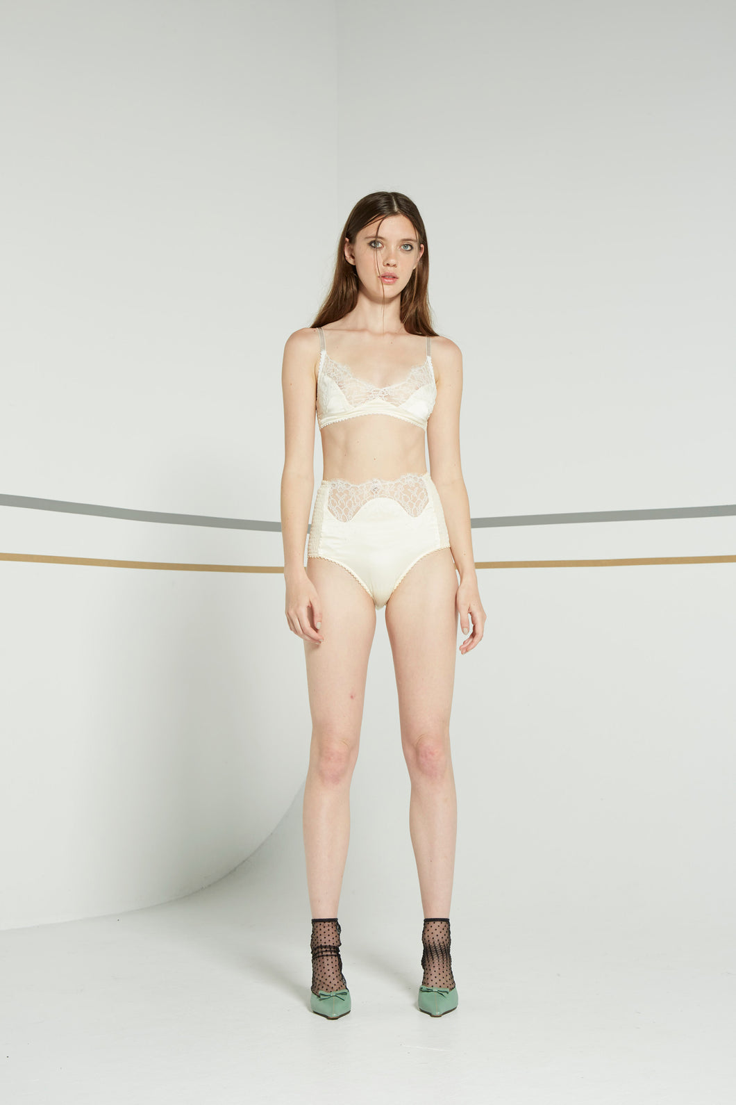 Nina knickers, cream