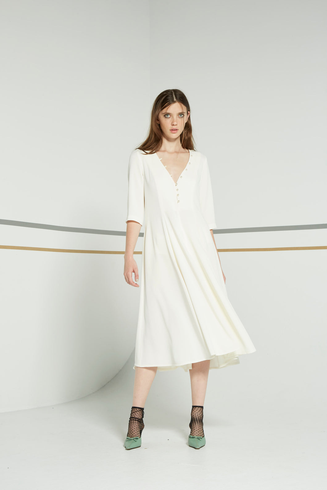 Lobella dress, cream
