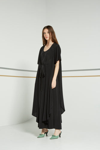 Pilgram dress, black night - Made To Order