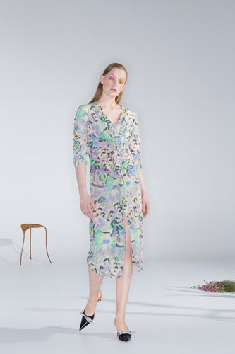 Harmony dress, found flowers