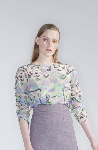 Sample - Harmony Top, found flowers