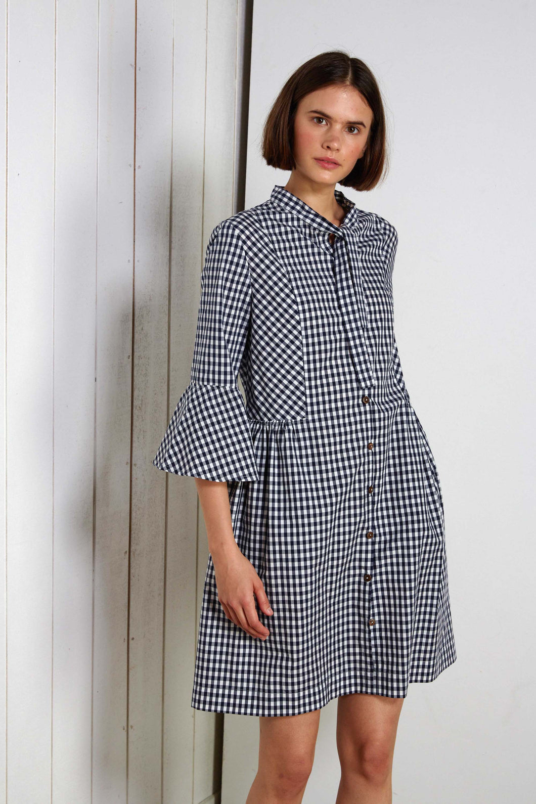 Tabouleh dress, gingham