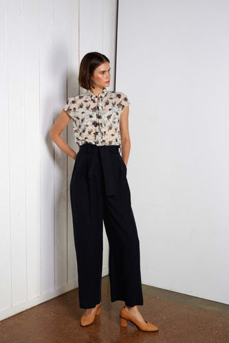 Timon pants, washed navy