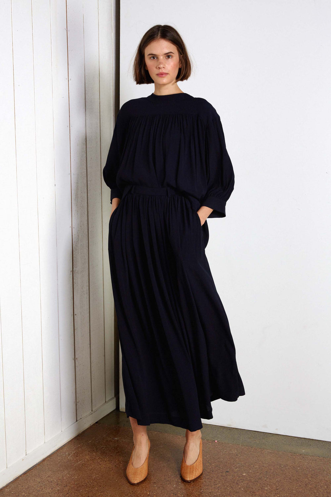 Willow skirt, navy
