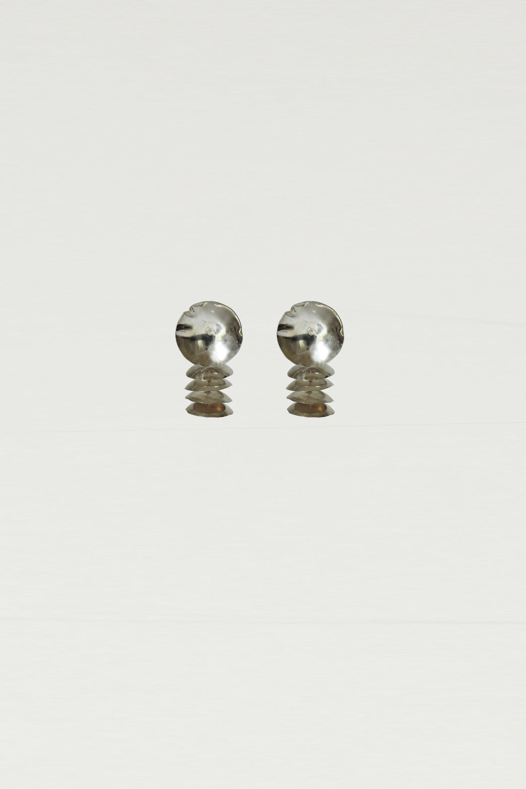 Series 6, earring 4, silver