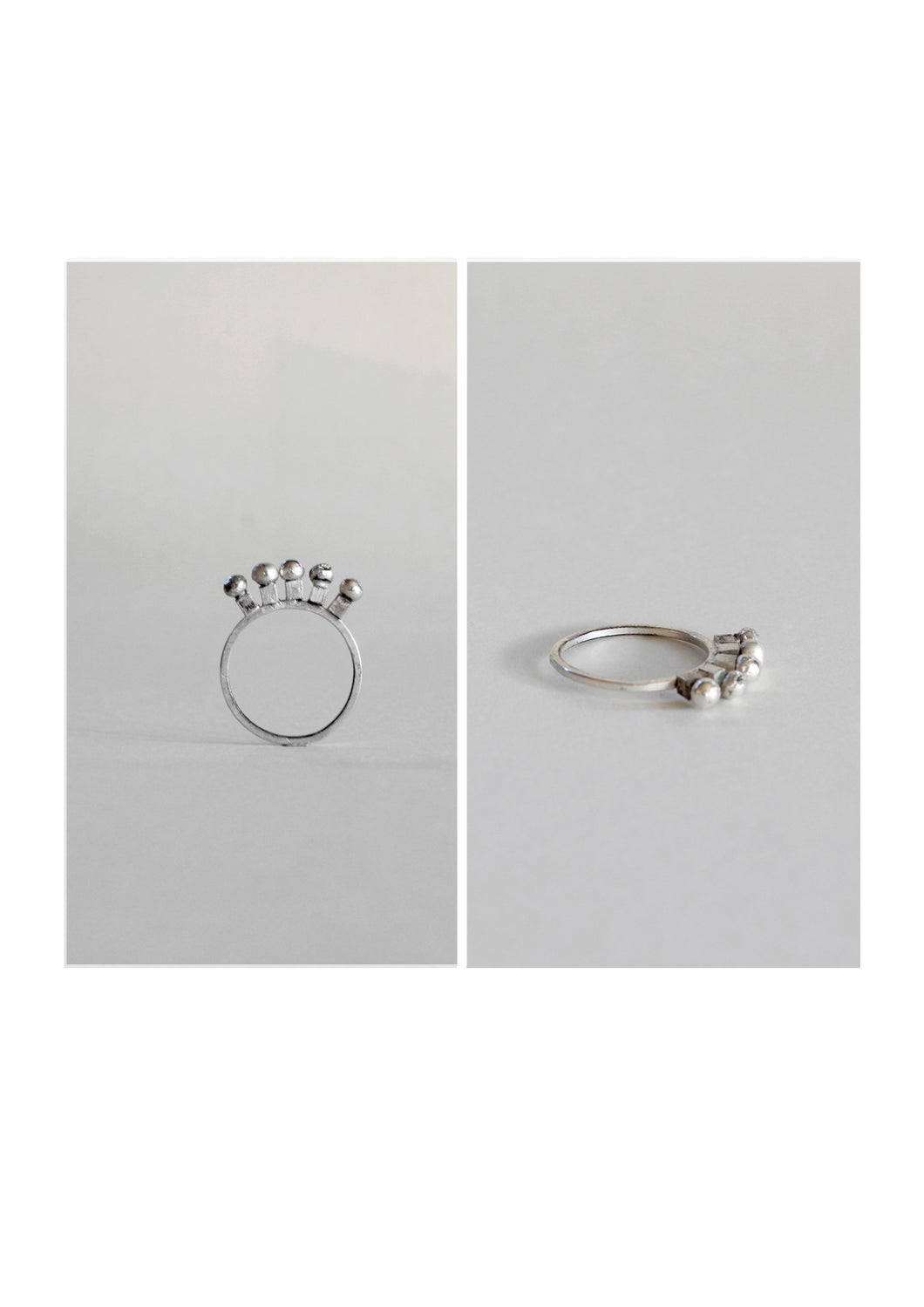 Series 1, Ring 10, sterling silver