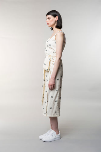 Hana wrap dress, polyester, nylon, cotton, lycra, flora