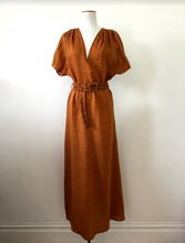 Sample/One of a kind - Lullus dress, burnt amber