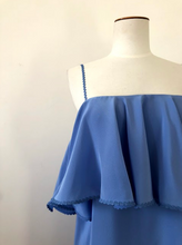 Sample - Pamona dress, bluebell