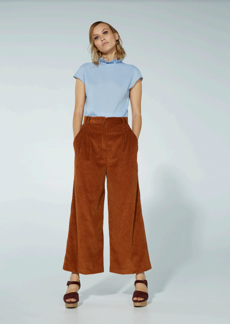 Archive - Neva Pant, SS18 , Burnt Toffee
