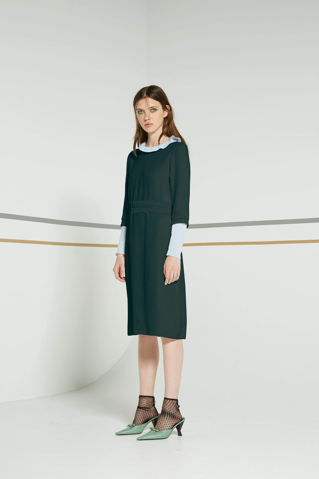 Sessile dress, pine