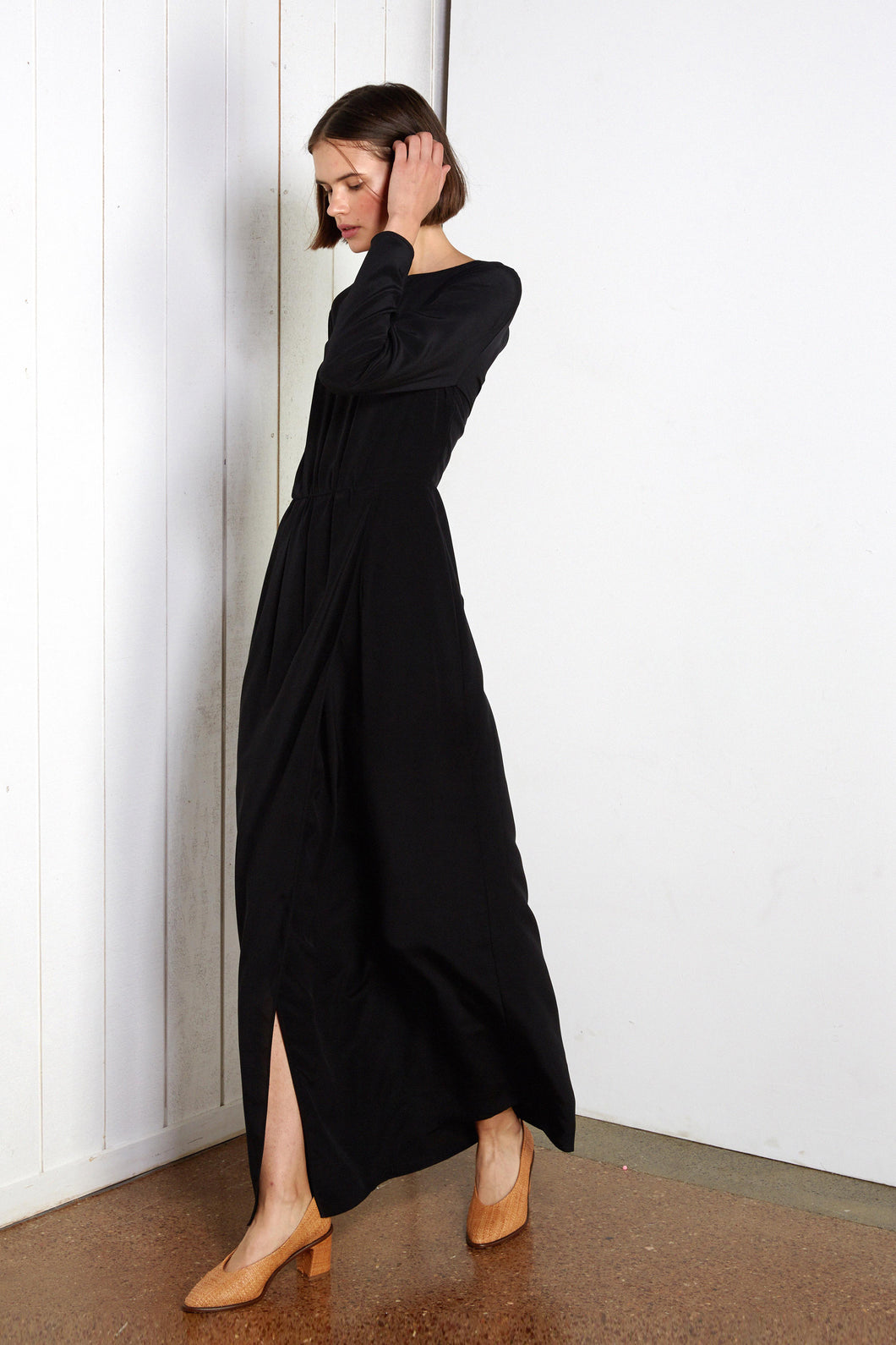 Athens dress, black