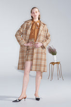 Cellini coat,  check