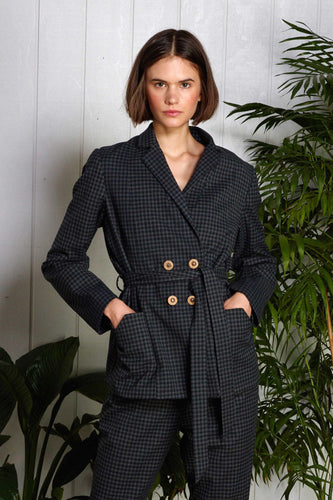 Showater jacket, checker