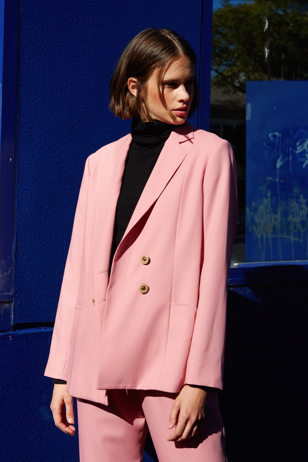 Showater jacket, taffy pink