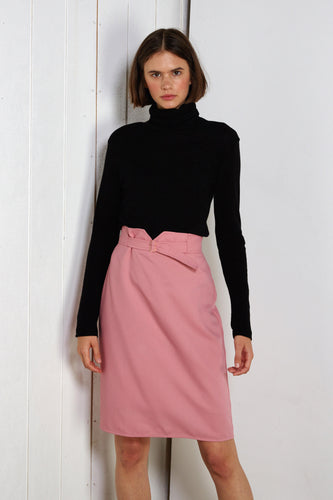 Showater skirt, taffy pink