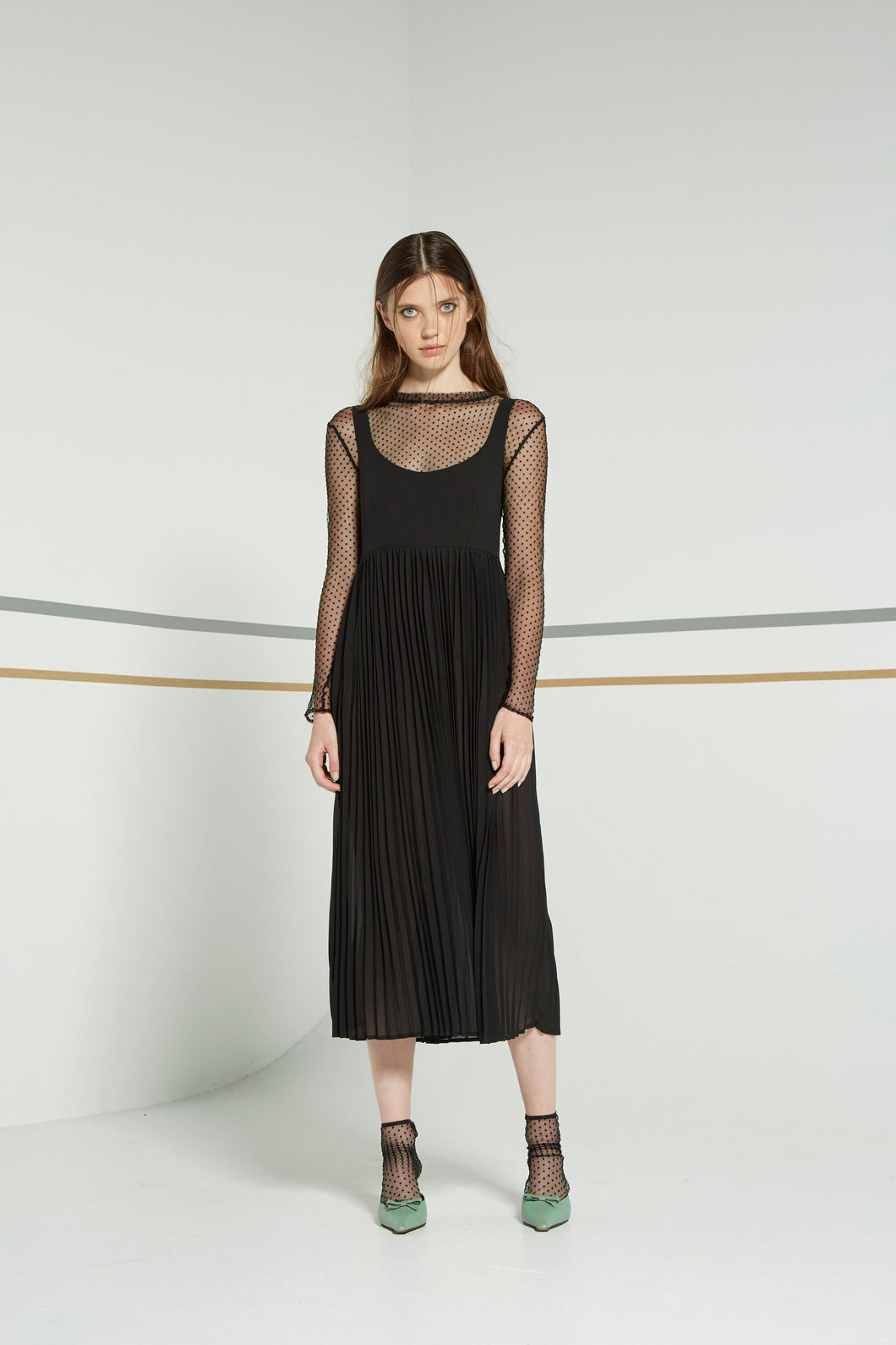 Nikola dress, black