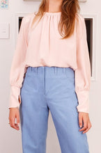 Keely Top, washed pink