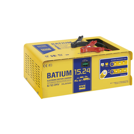 Φορτιστής μπαταριών Gys Batium 15-24, made in France - mytoolstore.gr