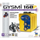 Hλεκτροκόλληση Inverter Gysmi 160P, 160A, made in France - mytoolstore.gr