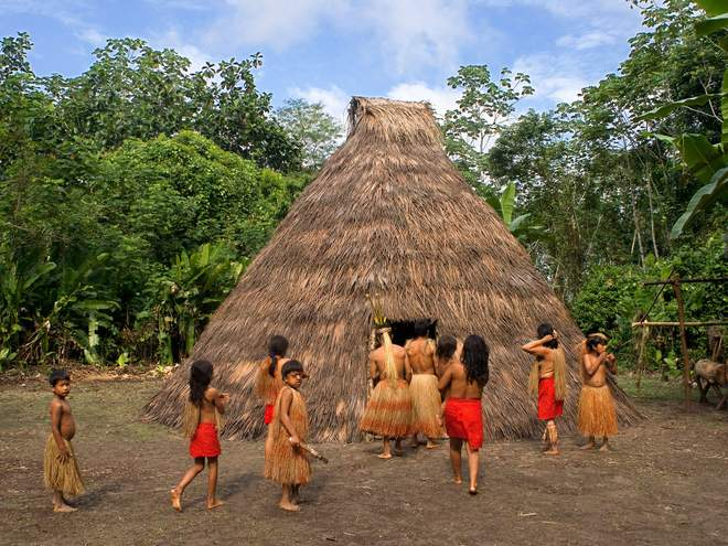 More than 100 tribes across the world still live in total isolation from society